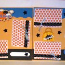 """Bowling Boy dbl""-Premade Scrapbook Pages 12x12-Double Page Layout"
