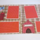 """""""Dog Gone Cute dbl""""-Premade Scrapbook Pages 12x12-Double Page Layout"""