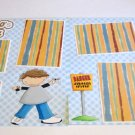 """""""Look Who's Driving Boy dbl""""-Premade Scrapbook Pages 12x12-Double Page Layout"""