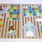 """""""Woof Dog dbl""""-Premade Scrapbook Pages 12x12-Double Page Layout"""