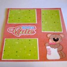 """""""100% Cute Baby Girl""""-Premade Scrapbook Page 12x12"""