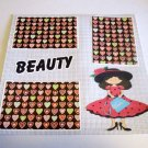 """""""Beauty Girl""""-Premade Scrapbook Page 12x12"""