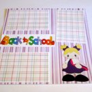"""""""Back To School Girl ab""""-Premade Scrapbook Page 12x12"""