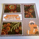 """Pumpkin Spice Is So Nice 2""-Premade Scrapbook Page 12x12"