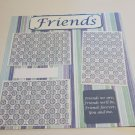 """Friends 2""-Premade Scrapbook Page 12x12"
