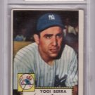 Yogi Berra 1952 Topps Baseball Card #191 BVG 4 VG-EX