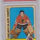 Tony Esposito 1972 - 1973 Topps #20 Hockey Card Graded PSA 8 NM-MT