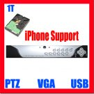 4 Ch Channel H264 1TB HDD Security CCTV 120fps Network Real Time DVR System