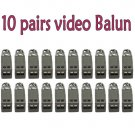 (20) 1 PORT PASSIVE CCTV CAMERA VIDEO BALUN TRANSCEIVER