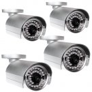 "(4) 1/4"" SONY CCD 420TVL SURVEILLAN​CE SECURITY CAMERA"