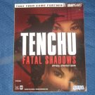 Tenchu Fatal Shadows Strategy Game Guide Playstation 2