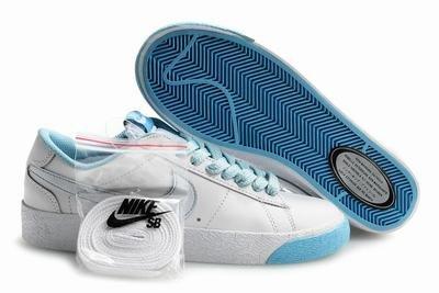 Blazer Low-White/Baby Blue-118017