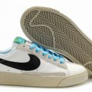 Blazer Low-Black/White/Khaki-118026