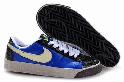 Blazer Low-Blue/Black/Khaki-118006