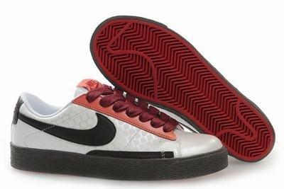 Blazer Low-Burnt Red/Black/White-118003