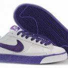 Blazer Low-Purple on Grey-117999
