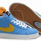 Blazer High-Gold/Blue-117976