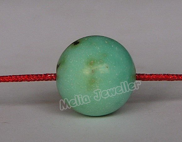 Natural Turquoise Dia.12.8 mm Round Loose Bead