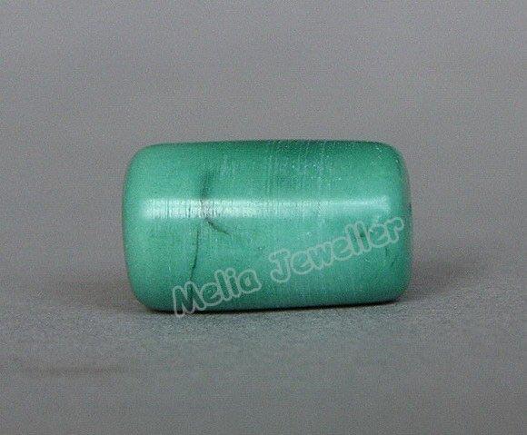 Natural Turquoise Dia.8.5 mm Barrel Loose Bead