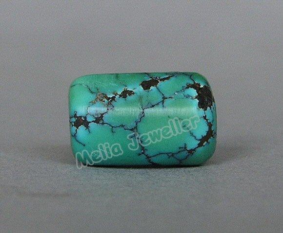 Natural Turquoise Dia.9 mm Barrel Loose Bead