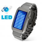 The One Kelvin - Japanese Style Mid-Sized Blue LED Watch