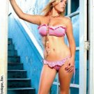 Ruffle bandeau and side strings thong.80127