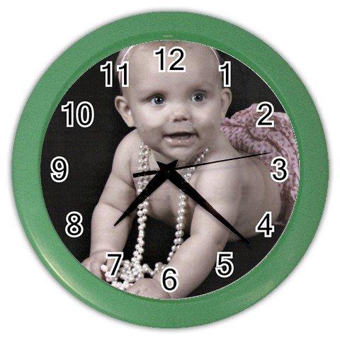 Custom print wall clock