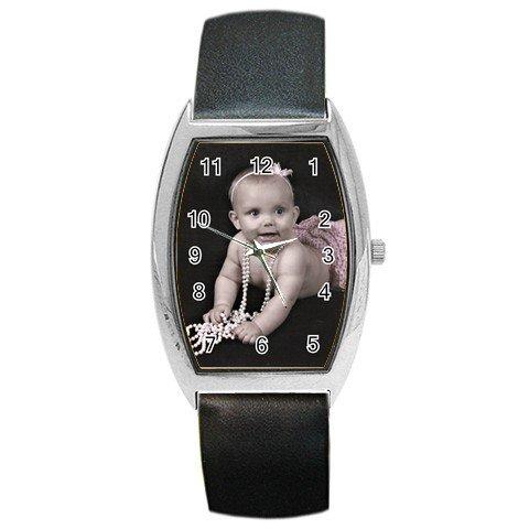 Custo print barrel watch