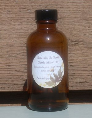 Nettle Herbal Infused Oil 4 Ounces
