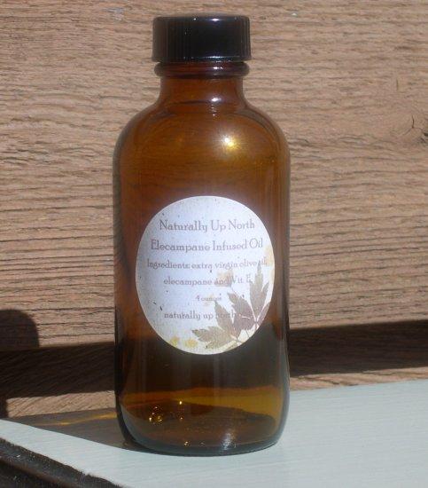 Elecampane Herbal Infused Oil 4 ounces