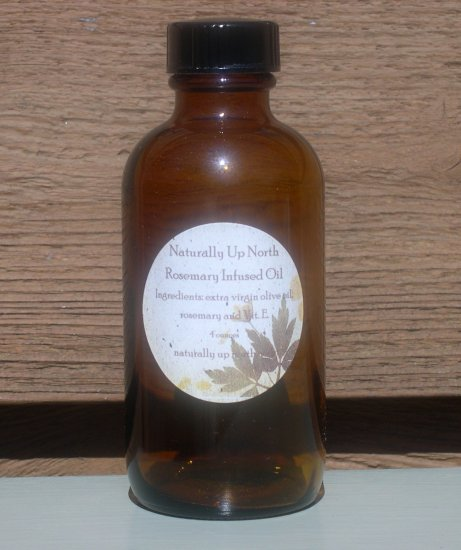 Rosemary Herbal Infused Oil 4 ounces
