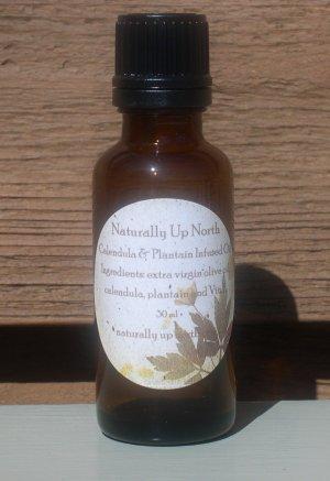 Calendula and Plantain Herbal Oil 30 ml