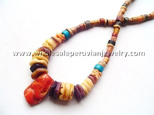 11 ETHNIC CHAQUIRA NECKLACES HANDMADE WHOLESALE PERUVIAN JEWELRY ART