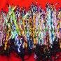 35 COLORFUL FRIENDSHIP BRACELETS HANDMADE PERUVIAN JEWELRY WHOLESALE ART