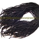 25 BLACK PENDANT CORDS WHOLESALE PERUVIAN JEWELRY