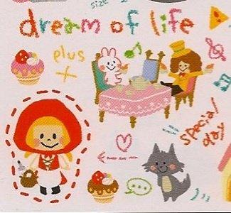 CRUX Dream of Life Fairy Tale Mini Memo Pad