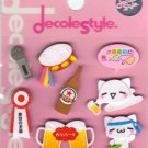 KAMIO Decole Style Scrapbook Stickers: Beer & Karaoke