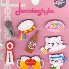 KAMIO Decole Style Scrapbook Stickers: Beer & Karaoke