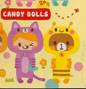 Q-LIA Candy Dolls Mini Memo Pad