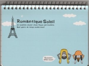 KAMIO Romantique Soleil Spiral Notebook