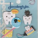 KAMIO Decole Style Scrapbooking Sticker: Teeth