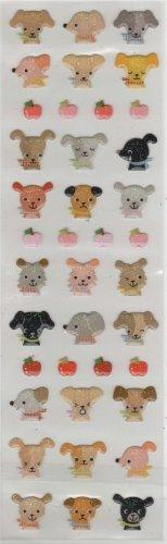 ARK ROAD Puppy Sticker Set