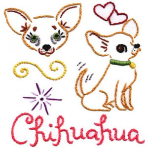 Sublime Stitching Embroidery Pattern: Chi Chi Fever