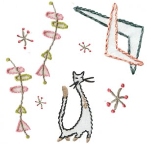 Sublime Stitching Embroidery Pattern: Swanky Decor