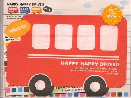 KAMIO Happy Happy Drive Bus Letter Set