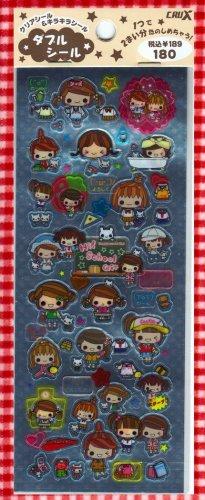CRUX Hi School Girls Sticker Set