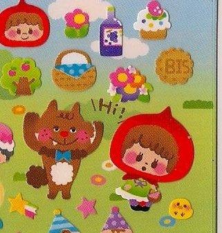 Q-LIA Cachet Cafe Fairy Tale Sticker Set