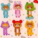 Q-LIA Animal Costumes Sticker Set