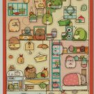 """San-X Sumikko Gurashi """"Things in the Corner"""" Our Dream Home Stickers (A)"""