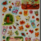 San-X Neko No Panya Bakery Cat 2 Sticker Set